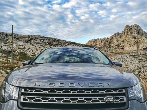 Land Rover Discovery : face